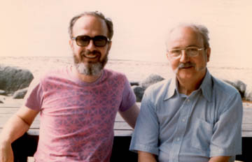 Photo of Bill Hunter and George Box