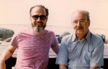 Photo of Bill Hunter and George Box