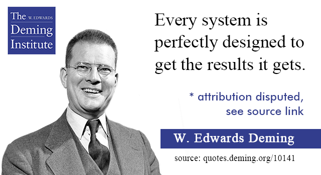 """Paul Fussell Quote Exploration Belongs To The: """"Every System Is Perfectly Designed To Get The Results It"""