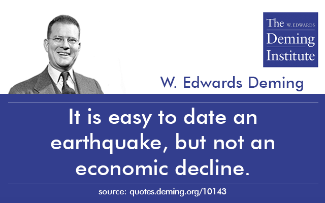 deming dating The w edwards deming institute® introduces a new 8-hour immersion if the cancellation notice is received 10 business days prior to the event date, the.