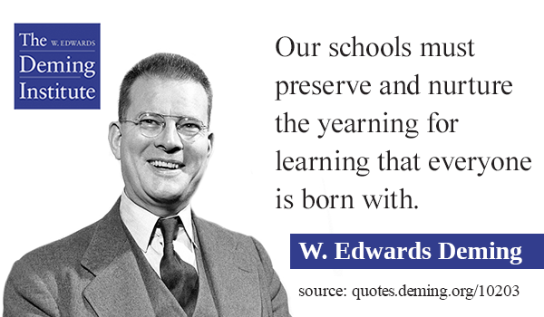 life and accomplishments of edwards deming Biography life and career born in iowa in 1900 just before he died in 1993 he founded the w edwards deming institute key theories summary.